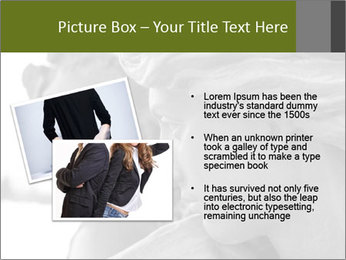Carved statue PowerPoint Template - Slide 20