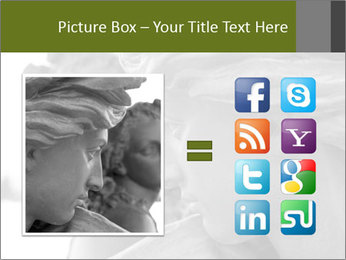 Carved statue PowerPoint Template - Slide 21