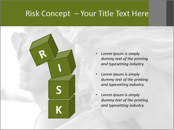 Carved statue PowerPoint Template - Slide 81