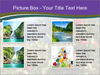 Apple-tree in the foreground PowerPoint Templates - Slide 14