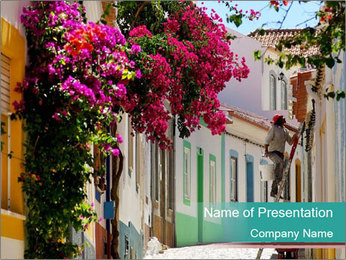 Portugal PowerPoint Template - Slide 1