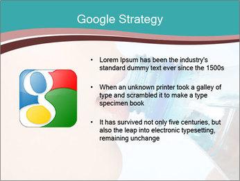Woman drinking PowerPoint Template - Slide 10