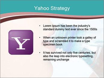 Woman drinking PowerPoint Template - Slide 11