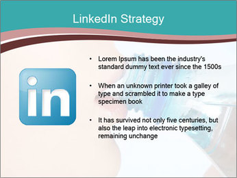 Woman drinking PowerPoint Template - Slide 12