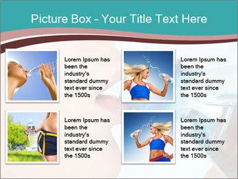 Woman drinking PowerPoint Template - Slide 14