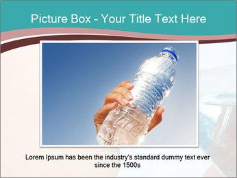 Woman drinking PowerPoint Template - Slide 16