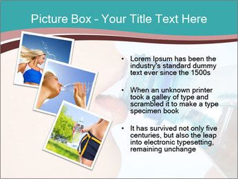 Woman drinking PowerPoint Template - Slide 17