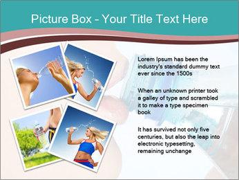 Woman drinking PowerPoint Template - Slide 23