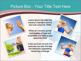 Woman drinking PowerPoint Template - Slide 24