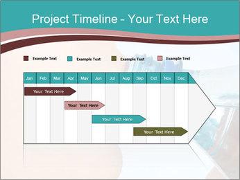 Woman drinking PowerPoint Template - Slide 25