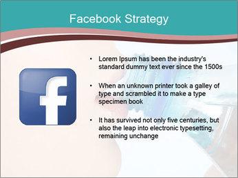 Woman drinking PowerPoint Template - Slide 6