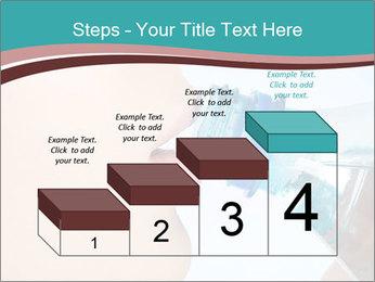 Woman drinking PowerPoint Template - Slide 64