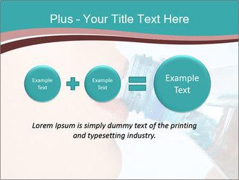 Woman drinking PowerPoint Template - Slide 75