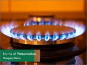 Gas burner PowerPoint Templates