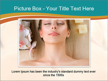 Beautiful woman in a spa PowerPoint Templates - Slide 16