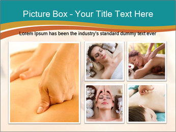 Beautiful woman in a spa PowerPoint Templates - Slide 19