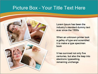 Beautiful woman in a spa PowerPoint Templates - Slide 23