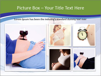 Pregnant woman PowerPoint Template - Slide 19