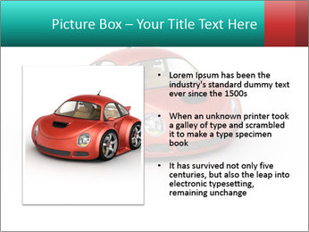 Red sport car PowerPoint Template - Slide 13