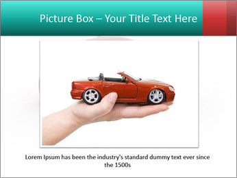 Red sport car PowerPoint Template - Slide 15