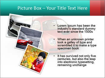 Red sport car PowerPoint Template - Slide 17