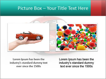 Red sport car PowerPoint Template - Slide 18