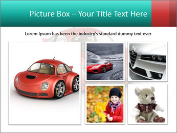 Red sport car PowerPoint Template - Slide 19