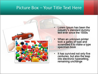 Red sport car PowerPoint Template - Slide 20