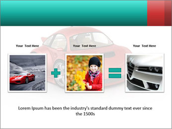 Red sport car PowerPoint Template - Slide 22