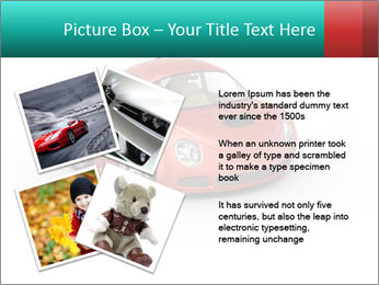 Red sport car PowerPoint Template - Slide 23