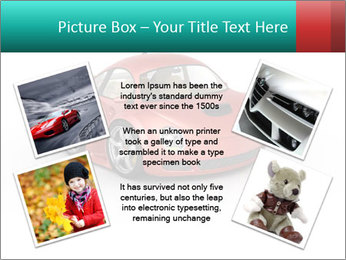 Red sport car PowerPoint Template - Slide 24