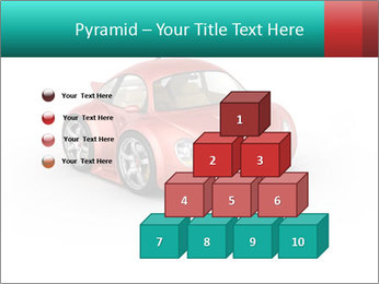 Red sport car PowerPoint Template - Slide 31