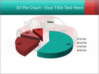 Red sport car PowerPoint Template - Slide 35