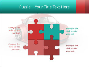 Red sport car PowerPoint Template - Slide 43