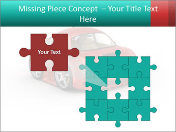 Red sport car PowerPoint Template - Slide 45