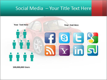 Red sport car PowerPoint Template - Slide 5
