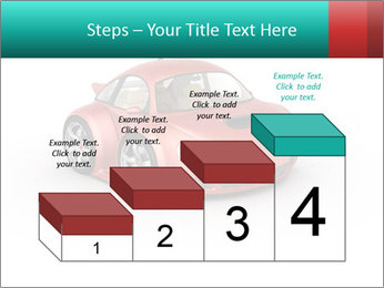 Red sport car PowerPoint Template - Slide 64