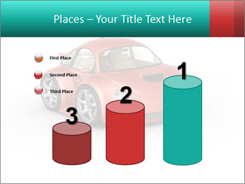 Red sport car PowerPoint Template - Slide 65