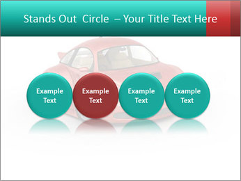 Red sport car PowerPoint Template - Slide 76