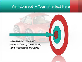 Red sport car PowerPoint Template - Slide 83
