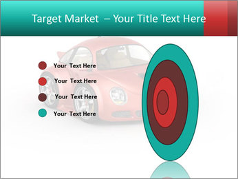 Red sport car PowerPoint Template - Slide 84