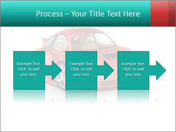 Red sport car PowerPoint Template - Slide 88