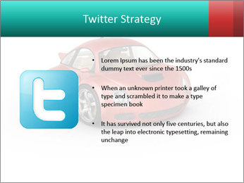 Red sport car PowerPoint Template - Slide 9
