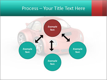 Red sport car PowerPoint Template - Slide 91