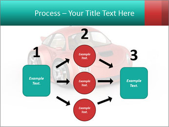 Red sport car PowerPoint Template - Slide 92