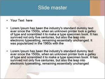 Blank Paper Sheet PowerPoint Templates - Slide 2