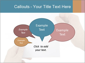 Blank Paper Sheet PowerPoint Templates - Slide 73