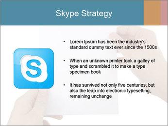 Blank Paper Sheet PowerPoint Templates - Slide 8
