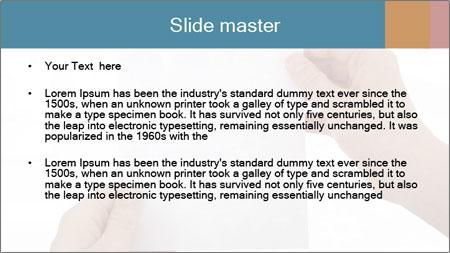 Blank Paper Sheet PowerPoint Template - Slide 2