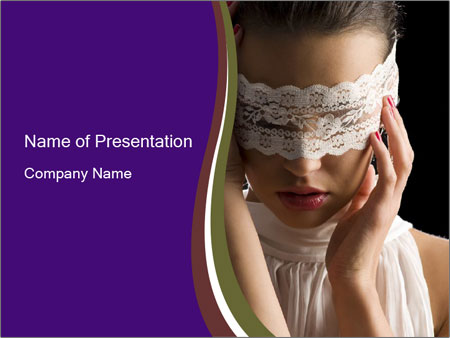 Baroque Woman PowerPoint Template